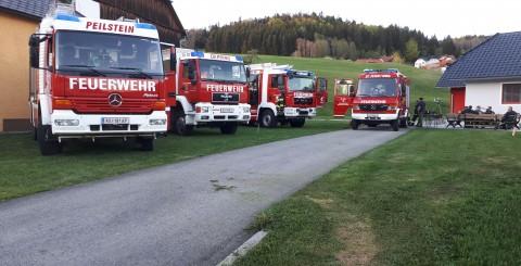 Atemschutzbereichsübung in Kirchbach