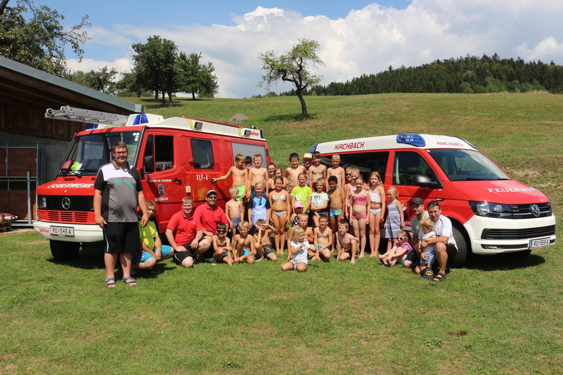 Kindertag in Kirchbach
