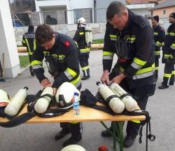Atemschutzleistungstest in Mistlberg