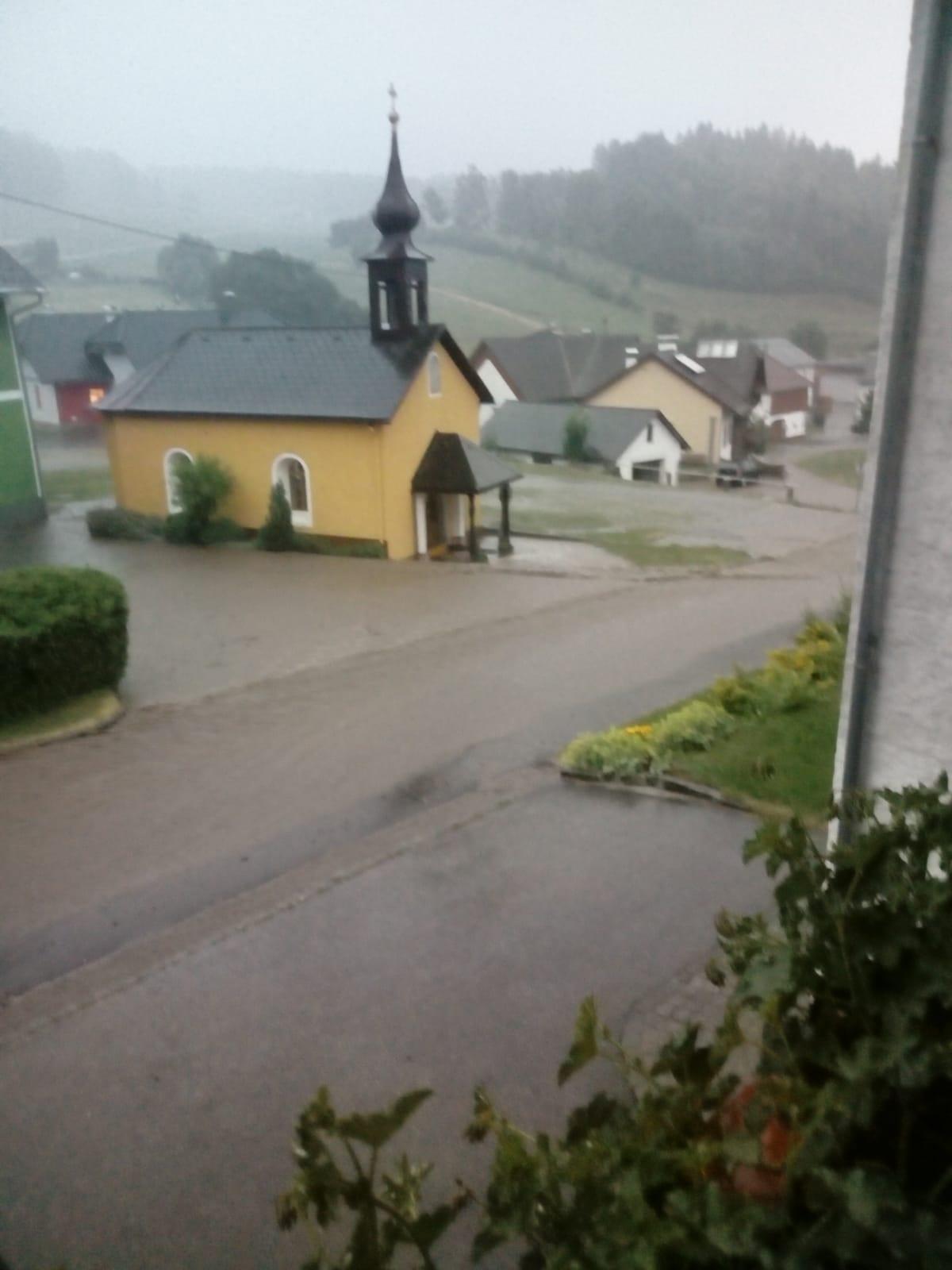 Überflutungen durch Starkregen