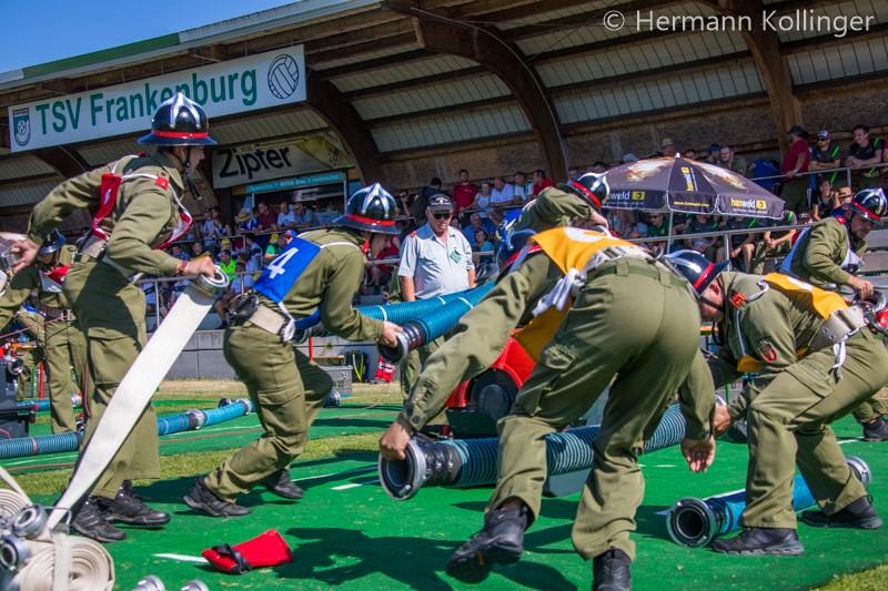 Landesfeuerwehrwettbewerb in Frankenburg