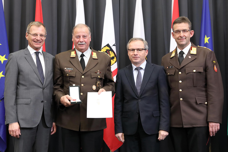 Hohe Auszeichnung des Landes Oberösterreich