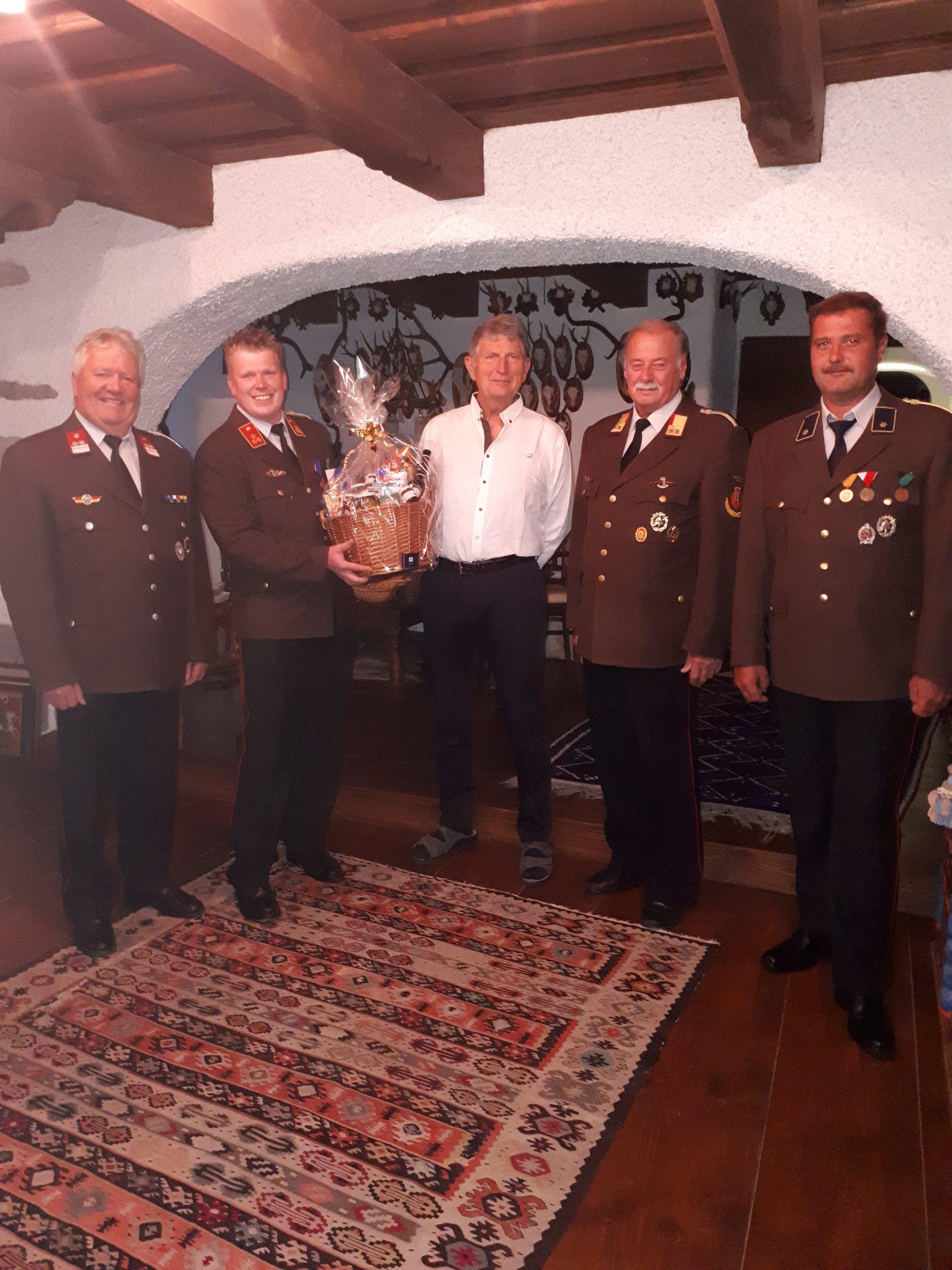 Feuerwehrarzt Dr. Mag. Wolfgang Friedl feiert seinen 70. Geburtstag